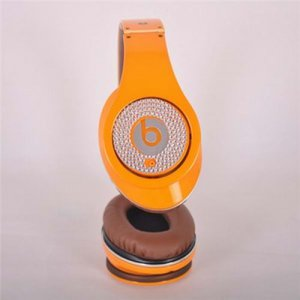 Beats By Dr. Dre Studio Limited Edition Orange With Diamond