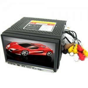 7 Inch TFT LCD Touch Screen Car DVD - RDS - SD - TV