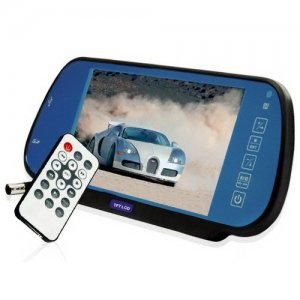 7 Inch Rearview Mirror with SD and USB