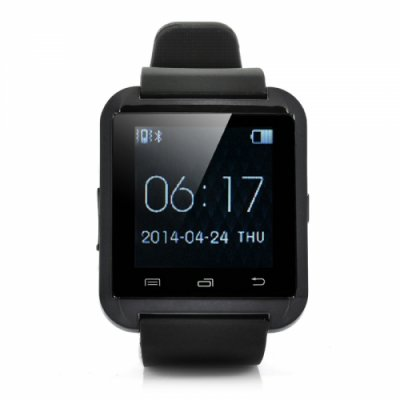 Smart Watch - 1.44 Inch Makes + Answers Calls Pedometer Thermometer Altimeter