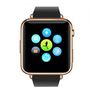 Bluetooth Smartwatch - GSM SIM Card Slot, Call Answer, Phone book, SMS Messaging, 32GB Micro SD Slot (RoseGold)