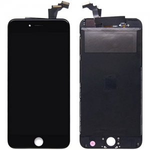 Black Screen Assembly for iPhone 6Plus - BLACK