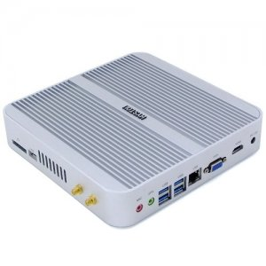 HYSTOU FMP03 - i3 - 6100U Windows 10 Mini PC - SILVER + US PLUG
