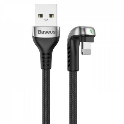 Baseus CALUX - B01 U-shaped Mobile USB Game Data Cable for IP 1.5A - BLACK