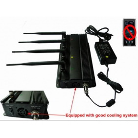 Cell Phone Signal Jammer with Car Charger - For Europe and Middle East