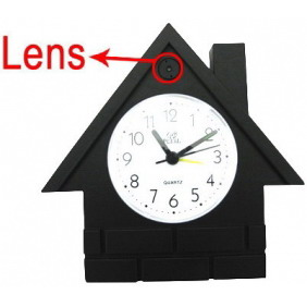 Alarm Clock Style Wireless Spy Hidden Camera