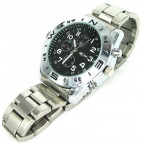 5.0 MP Spy Camera Watch Support M-JPEG - 4GB