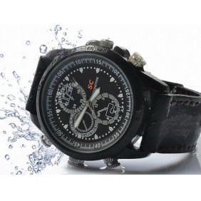 Waterproof Sports Spy Camera Watch With Internal 4GB Memory