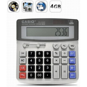 Spy Gadget Calculator Hidden Camera 4GB