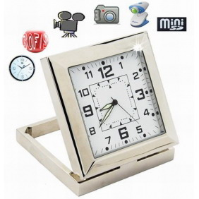 Hidden Spy Camera Clock 2.4GHZ Plug and Play