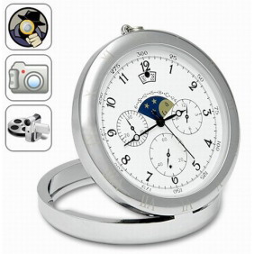Spy Pocket Watch with 4GB Memory