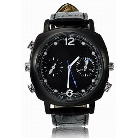 Waterproof HD 4GB Spy Camera Watch with Undetectable Pinhole Lens