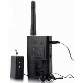 Wireless Transmission Audio Bug Spy Gadget with Ultra Range
