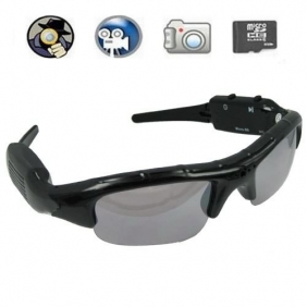 Special Spy Sunglasses DVR with Hidden Camera Support Micro External SD Card + 4GB Memory card